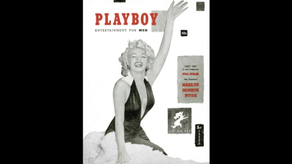 That first issue of Playboy featured Marilyn Monroe on the cover. Financed with $600 of Hefner
