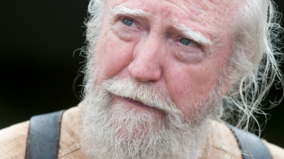 "The death of the wise doctor, Hershel, during ""The Walking Dead"