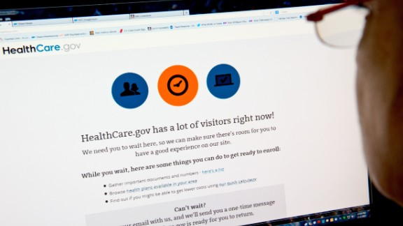 The Healthcare.gov website had a bumpy rollout