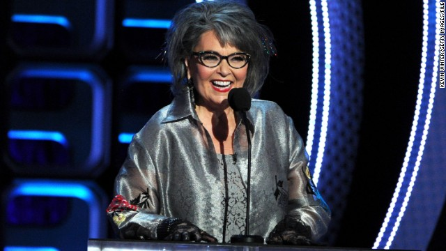 Roseanne Barr said she suffers from macular degeneration and glaucoma.