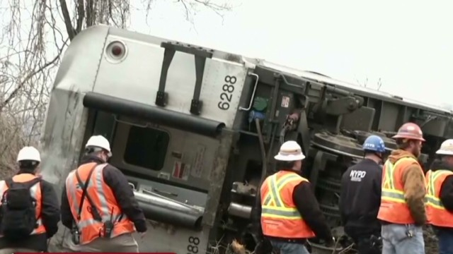 NTSB: Train that crashed was going 82mph