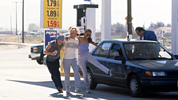 """Spears stars in the 2002 movie """"Crossroads"""" with Taryn Manning and Zoe Saldana. That year, Forbes magazine named her Hollywood's Most Powerful Celebrity."""