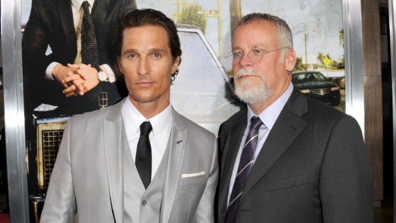 Matthew McConaughey, left, played lawyer Mickey Haller in the film adaptation of Michael Connelly