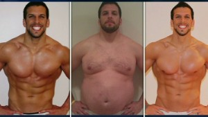 weight loss success draw something match helps man lose 400 pounds