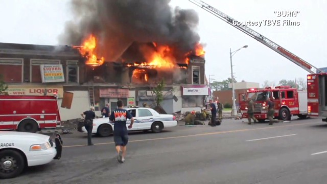 Fighting fires in arson capital: Detroit