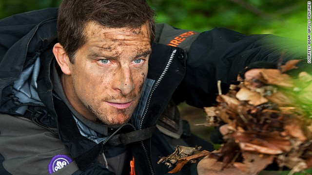 Adventurer Bear Grylls is Chief Ambassador for the global scout movement.
