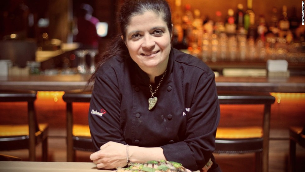 Alex Guarnaschelli is an Iron Chef, Food Network star and executive chef at Butter in New York City.