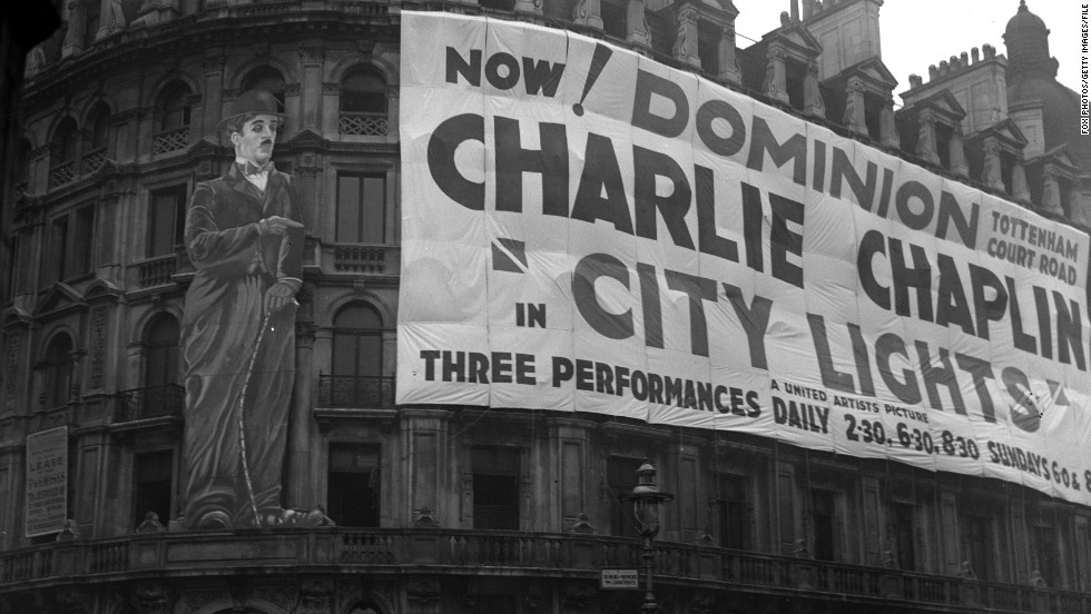 "Virginia Cherrill only needed to say two lines in the scene which Chaplin made her re-do hundreds of times: ""Flower sir?"" But his determination appeared to pay off -- ""City Lights"" was a box office hit, despite being a silent film in a new era of sound."