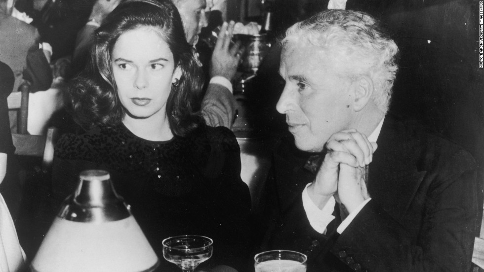 After leaving the U.S. in the 1950s and moving to Switzerland with wife Oona O'Neill (pictured), Chaplin ordered many of his outtakes to be destroyed. The couple remained married until his death in 1977 and had eight children.