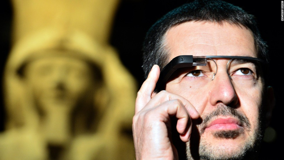 Google Glass may seem futuristic now, but could soon be used in everyday life. It has a miniature projector, touch controls and voice commands that sit on your eyes and ears like glasses. That setup allows wearers to interact and engage with information and the world around them without having to pull out a phone.