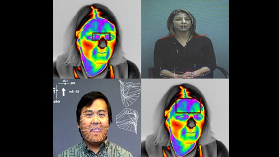 """Future Attribute Screening Technology (FAST) can be used to remotely  detect """"mal intent"""" in a person. Using eye trackers, respiratory sensors, thermal cameras, """"gesticular analytics"""" and pheromone detection, Homeland Security hopes to use the technology in, say, airports, to identify potential criminals. There is huge debate surrounding the morality of the technology."""
