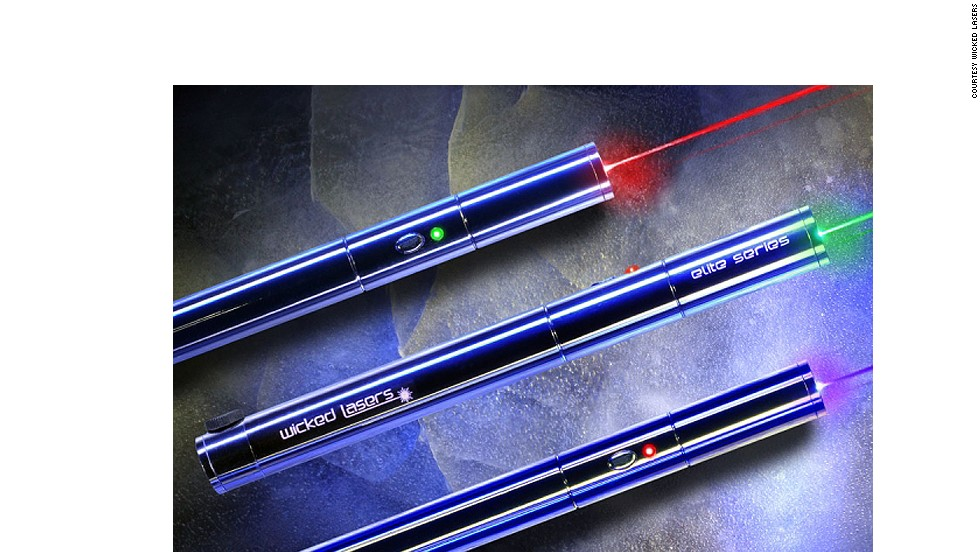 "The laser of the Elite Pro is so intense it can burn through even sturdy materials. Featured on <em>Discovery Channel's</em> ""Future Weapons"", the lasers are used to point a strong beam towards a suspect so as to temporarily thwart their eyesight without causing permanent eye damage."