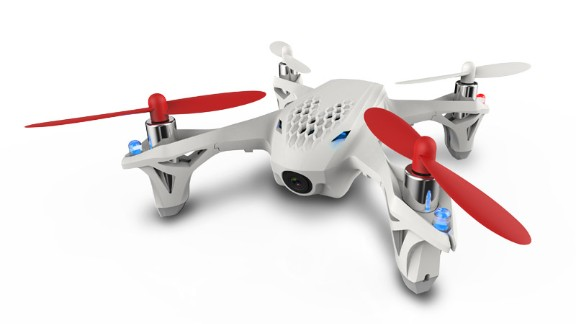 Drone racing is a big deal. It has its own series -- the Drone Racing League -- featured on ESPN, and is a fast-growing sport. The Hubsan X4 has a point-of-view camera and some nifty moves. Read more.