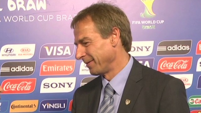 Klinsmann on U.S. World Cup draw