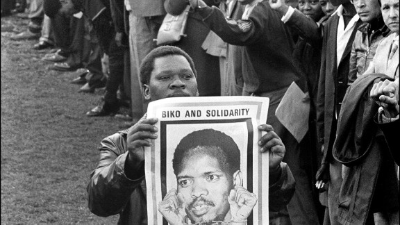 Steve Biko was one of South Africa's most important political activists and the leader of the country's Black Consciousness Movement. His brutal murder from injuries while in police custody caused a local and international outcry, turning world attention on the evils of apartheid. Biko, whose funeral was attended by thousands of mourners and turned into a protest rally, is hailed as a martyr of the anti-apartheid struggle and an international symbol of black resistance.