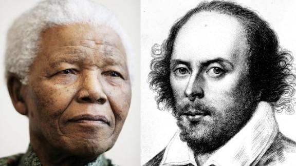 Words of Wisdom: How Shakespeare's words inspired Nelson Mandela.