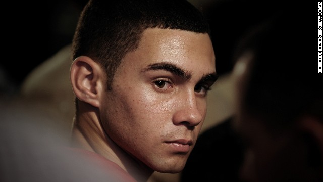 Elian Gonzalez during the celebration of the 10th anniversary of his return from Miami on June 30, 2010 in Havana, Cuba.