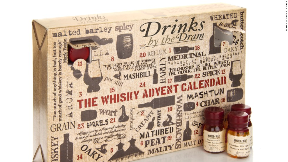 Master of Malt The Whisky Advent Calendar -- $245.14