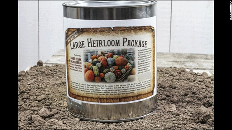 Baker Creek Heirloom Seeds Northern or Southern Large Package -- $84