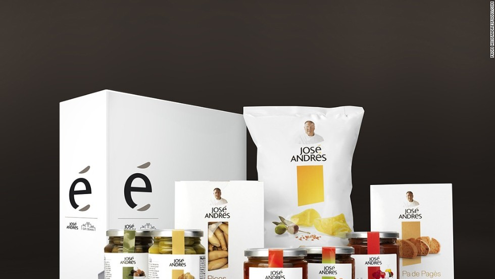 Jose Andres Foods ¡Salud, España!: A Spanish Vegetable Collection  -- $50