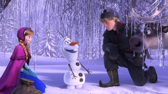 "Best animated feature film: ""Frozen"""