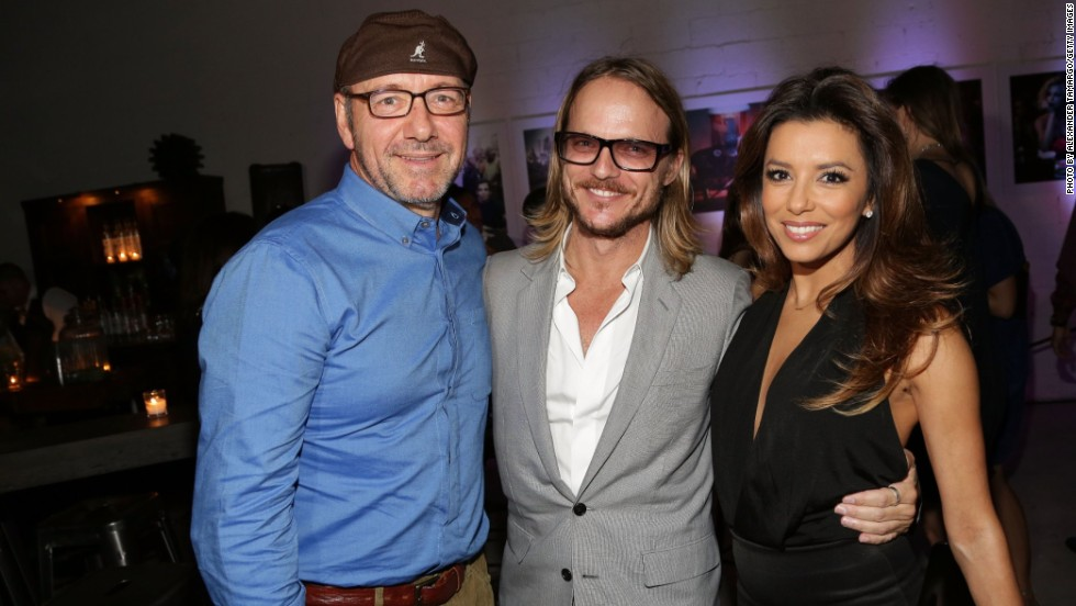 An array of evening social events bring artists and celebrity collectors together. It's an opportunity to gossip about purchases made during the day, and a chance to learn more about an artist's works. Actors Kevin Spacey and Eva Longoria, both avid buyers of art, mingled with photographer Randall Slavin during Moments In Motion, an exclusive unveiling of never before seen photos at Art Basel.