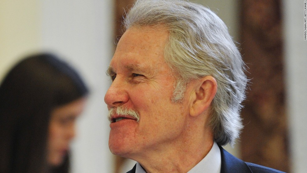 "Oregon Gov. John Kitzhaber released a statement saying he will resign as of February 18. Kitzhaber, a Democrat, had been facing calls for him to step down amid <a href=""http://www.cnn.com/2015/02/12/politics/john-kitzhaber-resignation/index.html"" target=""_blank"">criticism</a> over a scandal concerning his fiancee's consulting and policy work."