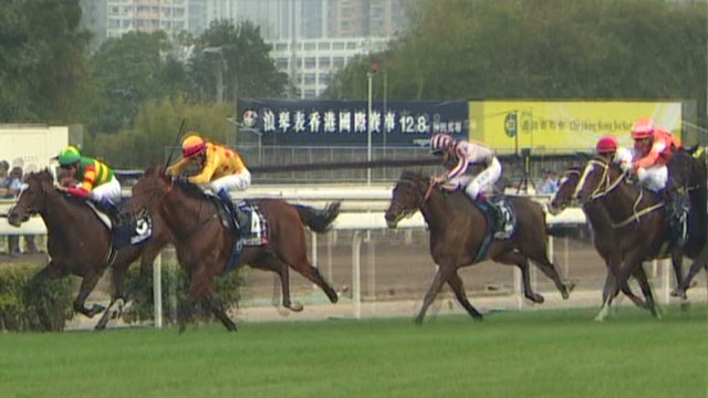 HK horse race with a $9 million prize