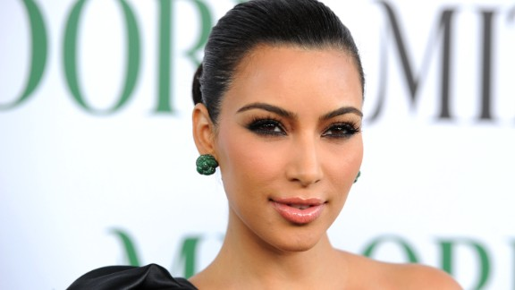 Television personality Kim Kardashian invited cameras into the doctor