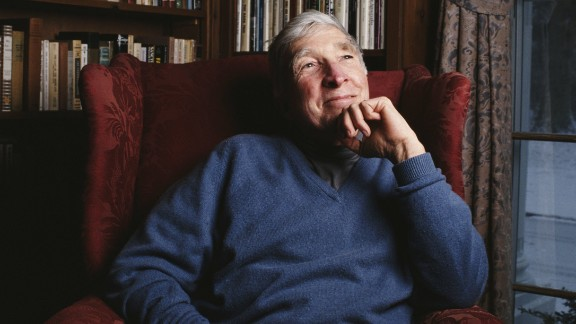 "Celebrated American novelist John Updike wrote about his battle with psoriasis in a piece for ""The New Yorker"" titled ""At War With My Skin."""