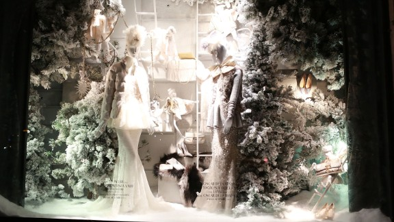 """<strong>""""Holidays on Ice,"""" Bergdorf Goodman, New York:</strong> Bergdorf's 2013 holiday windows recreate American holidays -- from April Fool's Day to Christmas -- in fanciful fashion. The team is<a href=""""http://www.thedailybeast.com/articles/2013/12/05/tales-of-a-bergdorf-goodman-window-dresser.html"""" target=""""_blank"""" target=""""_blank""""> already at work</a> designing next year's Christmas windows."""