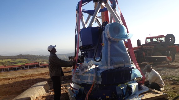 The Entoto Observatory is located about 20 kilometers from Addis Ababa. The site is 3,200 meters above sea level.