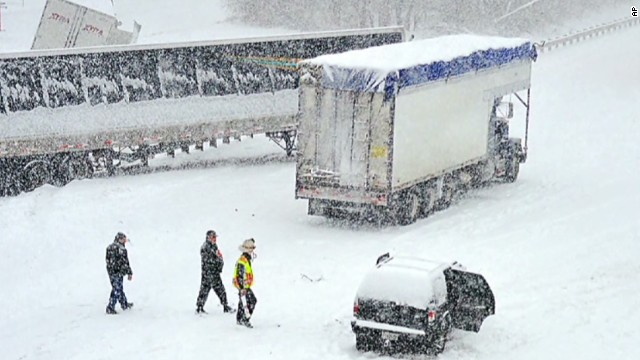 Winter storm creates deadly conditions