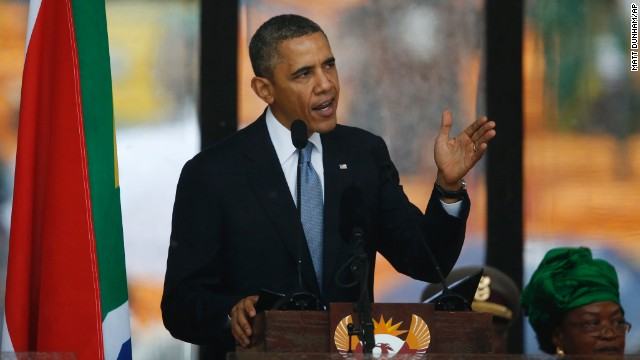 Mandela remembered: Obama's full speech