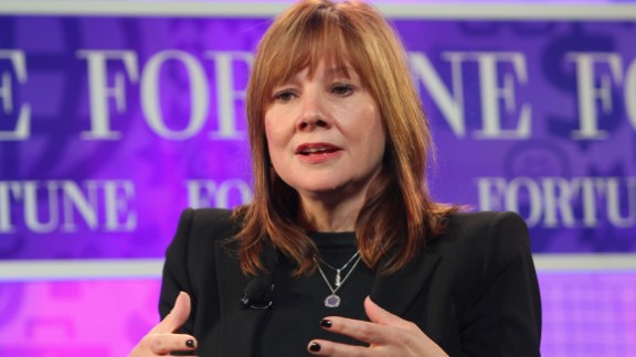 General Motors, No.7 on this year's overall Fortune 500 list, promoted Mary Barra to serve as the new chief executive officer on Tuesday, December 10. Barra will serve as the first female head of a major U.S. automaker.