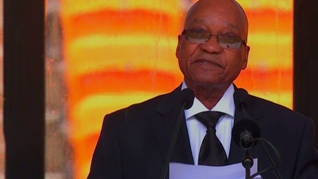 Zuma thanks World for support