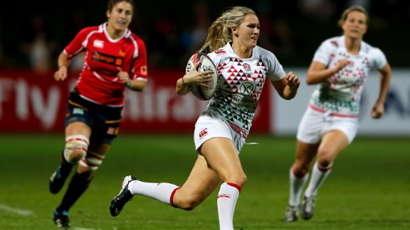 Megan Ellery made a stunning debut at the Women