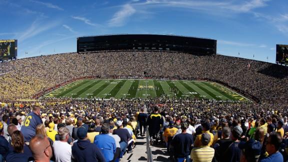 Michigan Stadium in Ann Arbor, Michigan