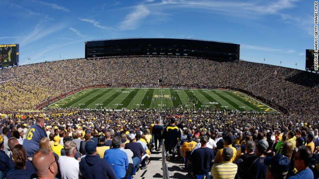 Michigan Stadium in Ann Arbor, Michigan