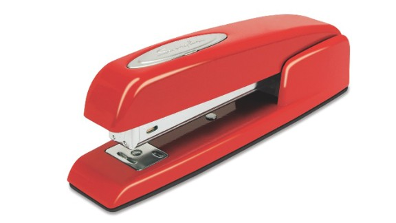 """Secret Santa gifts for office colleagues can be tricky. Sure, you know these people well, but work talk might be the only conversations you have. Give a gift that nods to what you know best: clever, funny or stylish office supplies, like the symbolic red Swingline stapler, a nod to the movie """"Office Space."""""""