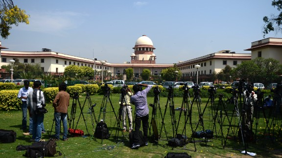 A view of the Indian Supreme Court in New Delhi earlier in the year.