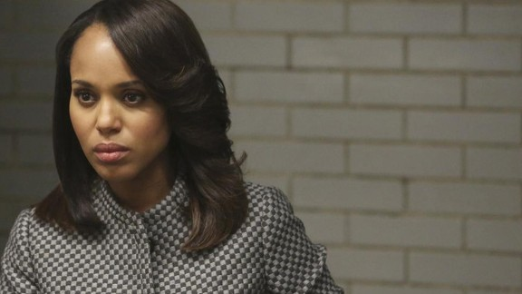 "Kerry Washington plays a former White House staffer who becomes the ultimate Washington fixer in ""Scandal."""