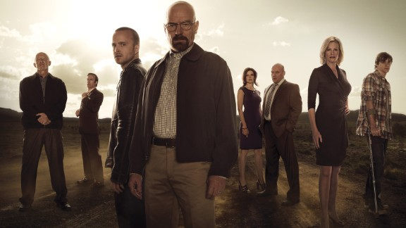 """<strong>Outstanding performance by an ensemble in a drama series: </strong>""""Breaking Bad"""""""