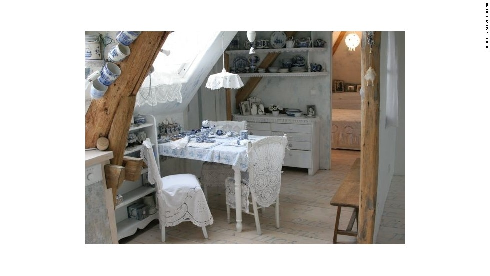 A hand-crafted kitchen ...