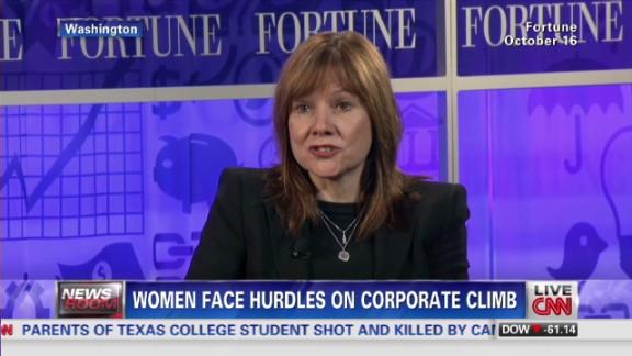 Wallace zero advancement of women in boardroom _00000930.jpg