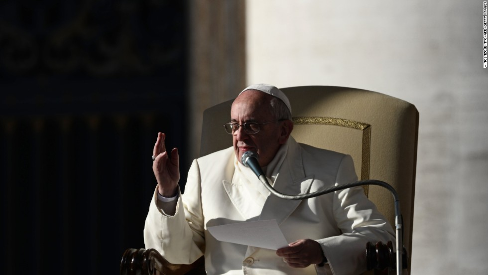 "DECEMBER 11 - ST PETER'S SQUARE, VATICAN: Pope Francis, formerly Jorge Bergoglio of Argentina, is known as a humble man, a capable administrator and -- as is expected -- a person of great faith. The charismatic pontiff has been named <a href=""http://edition.cnn.com/2013/12/11/living/time-person-of-the-year/index.html?hpt=hp_t1"">Time magazine's person of the year</a>. ""The septuagenarian superstar is poised to transform a place that measures change by the century,"" Time said."