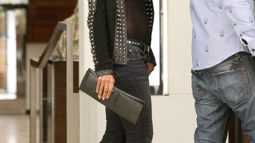 Jada Pinkett Smith gets some shopping done in Beverly Hills on December 10.