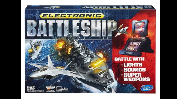 "Electronic Battleship by Milton Bradley in 2013. ""You sunk my battleship!"" Though the electronic battleship game is not new to the market, introduced in 1977, it was one of the first board games to integrate electronics."