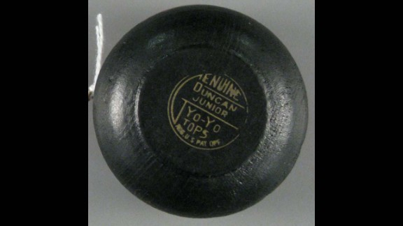Genuine Duncan Junior Yo-Yo by Duncan in the 1930s-1950s. The Yo-Yo is the second oldest toy, after dolls, and can be traced to nearly 500 B.C. Donald Duncan saw the popularity of the toy and bought the Flores Yo-Yo Company for $25,000 in 1929.