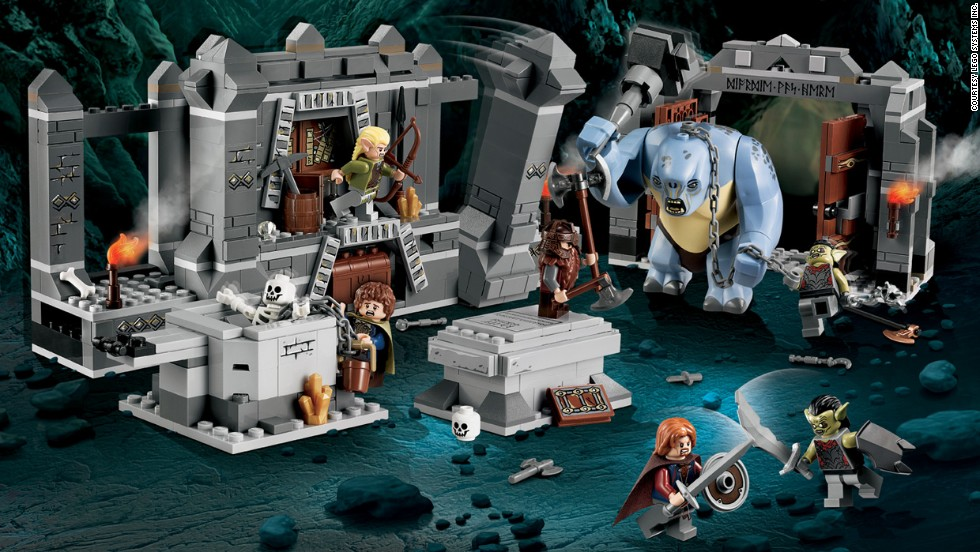 "The Mines of Moria™ Lego Lord of the Rings by Lego in 2012. The company has exploded from its wooden days. The Lego company now not only sells the popular building toy, it also has a theme park, Legoland, movies and even video games. ""The Lego Movie,"" from 2014, was one of the biggest box-office hits of the year."